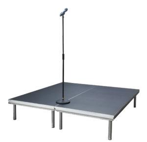 2 lavapalaa, puhujakoroke, lava, koroke, 40cm korkea