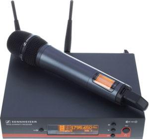 Uudet laadukkaat Sennheiserin langattomat mikrofonit ja headsetit.