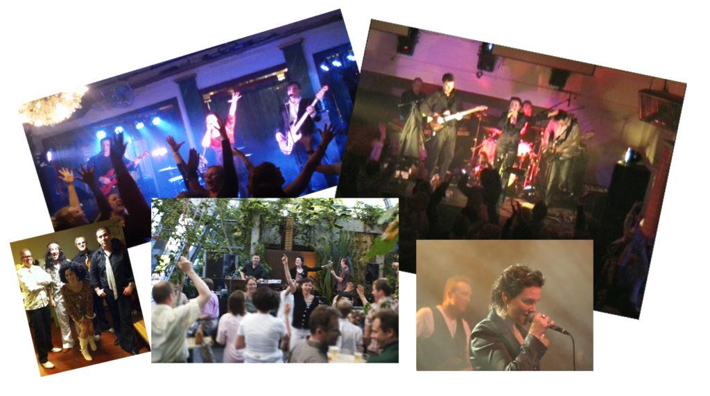 Coverband, partyband, kvintetti, naislaulaja, 2 mieslaulajaa